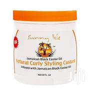 Sunny Isle Jamaican Black Castor Oil Natural Curly Styling Custard 8oz | Hair Beauty for sale in Lagos State, Lagos Mainland