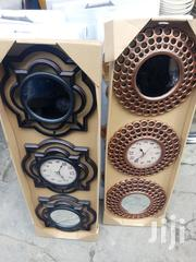 Mirrow and Clock Gift Set by 3 | Home Accessories for sale in Lagos State, Ikoyi