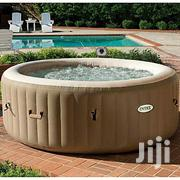 Intex Inflatable Jacuzzi With Pump Machine Brown | Plumbing & Water Supply for sale in Lagos State, Magodo