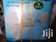 """16"""" Reachargerble Solar Fan. 