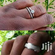 S925 Sterling Silver Wedding Ring Set | Jewelry for sale in Oyo State, Ibadan