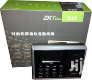 Zkteco S30 IP Time Attendance Machine - 3200 Fingerprint Templates | Computer Accessories  for sale in Lagos State, Ikeja