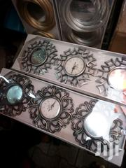 3 In 1 Decor Wall Clock & Mirror | Home Accessories for sale in Lagos State, Ibeju