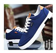 Fashion Men's Lace-up Canvas - Blue | Shoes for sale in Oyo State, Oluyole