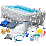 Intex Intex Rectangular Above Ground Pool With Accessories | Garden for sale in Abuja (FCT) State, Central Business District