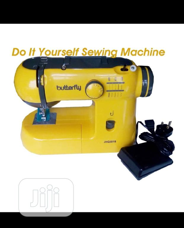 Do It Yourself Butterfly Sewing Machine