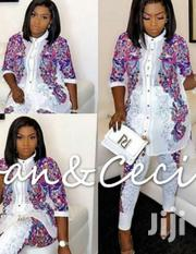 New Elegant White Designed Shirt and Trousers | Clothing for sale in Lagos State, Ikeja