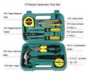 9 Piece Hand Repair Home Tools Box Set | Hand Tools for sale in Lagos State, Amuwo-Odofin
