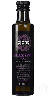 Organic Flaxseed Oil 250ml | Feeds, Supplements & Seeds for sale in Lagos State, Magodo