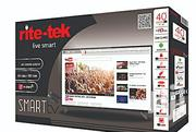 Rite-tek 40 Inch Android Smart TV With Smart Air Remote | TV & DVD Equipment for sale in Abuja (FCT) State, Garki 2