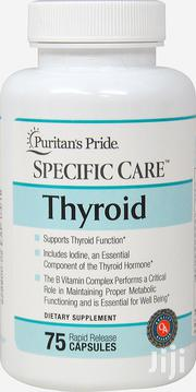 Puritan's Pride Specific Care Thyroid With 75 Rapid Release Capsules | Vitamins & Supplements for sale in Abuja (FCT) State, Wuse 2