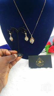 Gold Earring and Pendant Silver Chain | Jewelry for sale in Lagos State, Ajah