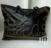 Black Hand-Embroidered Leather Shoulder Bag   Bags for sale in Ondo State, Ondo