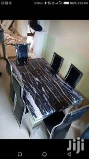 Marble Dinning And Chair | Furniture for sale in Lagos State, Ojo