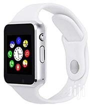 Smart Wristwatch, White, SIM Enabled | Accessories for Mobile Phones & Tablets for sale in Lagos State, Ikeja
