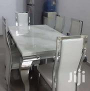 High Quality Classy 6-Seater Marble Dining Table | Furniture for sale in Oyo State, Ibadan