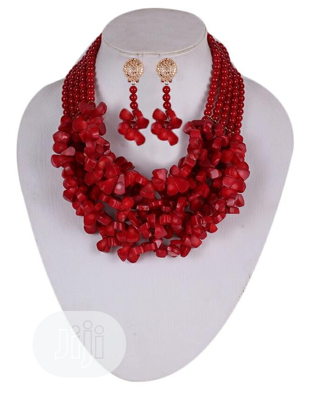 Layers Coral Beads