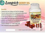 Longrich Berry Oil | Vitamins & Supplements for sale in Rivers State, Port-Harcourt