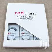 6 Pairs/Pack Red Cherry Eyelashes Natural Long Clear | Makeup for sale in Abia State, Osisioma Ngwa