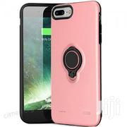 Battery Rechargeable Case With Ring Holder for iPhone8 Plus- Pink | Accessories for Mobile Phones & Tablets for sale in Lagos State, Ikeja