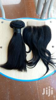 10inches Straight And Closure Human Hair | Hair Beauty for sale in Lagos State, Ojodu