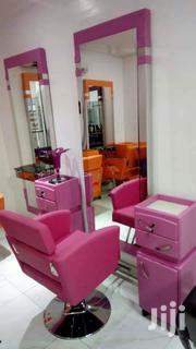 Set Of Salon Mirror With Drawal And Chair | Salon Equipment for sale in Lagos State, Lagos Island