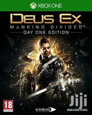Deus Ex: Mankind Divided (Day One Edition) - Xbox One | Video Game Consoles for sale in Lagos State, Surulere