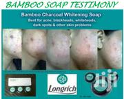 Longrich Natural Essence Bamboo Charcoal Soap | Skin Care for sale in Benue State, Makurdi