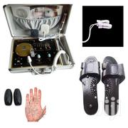 5 In 1 Quantum Resonance Magnetic Analyzer With Slippers, Pads & Bulbs | Tools & Accessories for sale in Lagos State, Ikeja