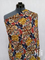 Flowered Crepe Sample Fabric   Clothing for sale in Lagos State, Agege