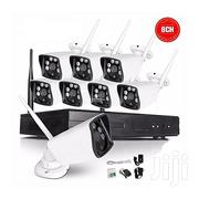 8ch Wireless Nvr Kit P2P IR Night Vision Security IP Camera Wifi CCTV | Security & Surveillance for sale in Lagos State, Ikeja