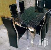 Higher Quality 6seaters Mable Top Dining Table in Stock | Furniture for sale in Lagos State, Ojo
