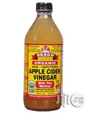 Bragg's Organic Raw Apple Vinegar-16 FL OZ (Small Size) | Vitamins & Supplements for sale in Lagos State, Ikeja