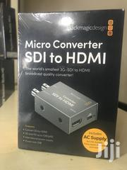 Blackmagic Design Micro Converter SDI to HDMI With Power Supply | Accessories & Supplies for Electronics for sale in Rivers State, Port-Harcourt