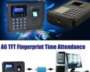 Time Attendance Fingerprint Clockin Machine With Backup Battery | Computer Accessories  for sale in Lagos State, Ikeja