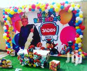 Balloon Cake Backdrop By Morphims Events | Party, Catering & Event Services for sale in Lagos State, Oshodi-Isolo