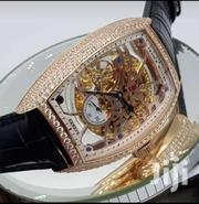 Engine Mechanical Black Leather Franck Muller | Watches for sale in Lagos State, Lagos Island