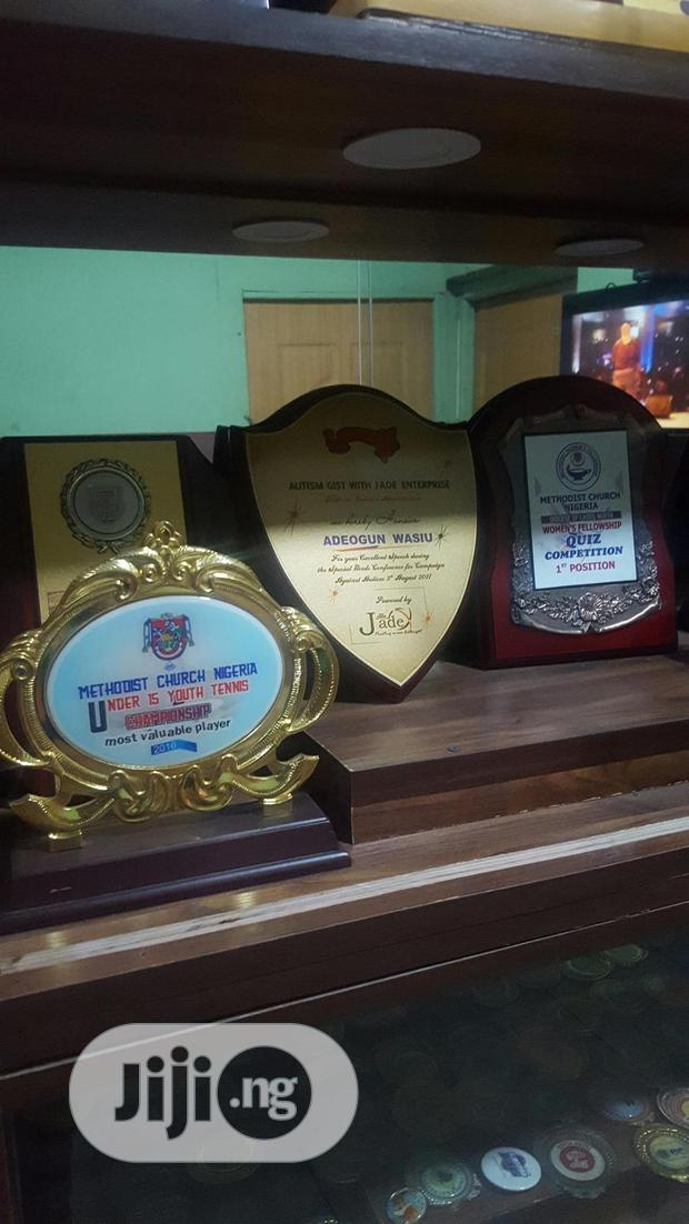 Archive: Awards Of Different Designs
