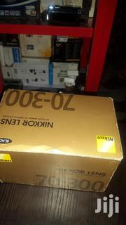 Nikkon Lens AF Zoom-nikkor 70-300mm Very Strong And Quality | Accessories & Supplies for Electronics for sale in Lagos State, Ikeja