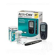 Accu-chek Active Blood Sugar Monitor Glucometer + 60 Test Strips | Tools & Accessories for sale in Lagos State, Ikeja