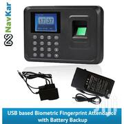 A6 Biometric Fingerprint Based Time & Attendance System With Battery | Safety Equipment for sale in Lagos State, Ikeja