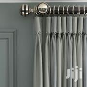 Plain Italian Curtain With Pole | Home Accessories for sale in Lagos State, Ojo