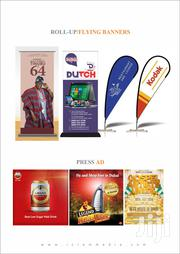 Roll-up Banners | Computer & IT Services for sale in Lagos State, Ikeja