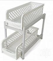 Portable 2 Tier Basket Drawers For Kitchen, Office | Kitchen & Dining for sale in Lagos State, Mushin