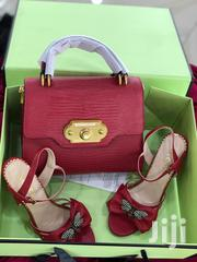 Dolce Gabbana Female Handbag Sandals Combo - Red | Bags for sale in Lagos State, Ikeja