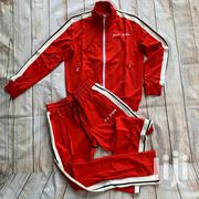 Palm Angels Unisex Tracksuit - Red | Clothing for sale in Lagos State, Ikeja