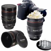 GIFT Black Lens Camera Lens Cup 24-105mm Travel Coftea Mug Cup Gift | Kitchen & Dining for sale in Lagos State, Ajah