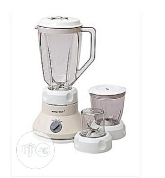 Master Chef Electric Blender With Two Mills