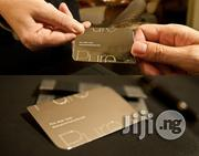 Metal Business Card    Stationery for sale in Lagos State, Ikeja