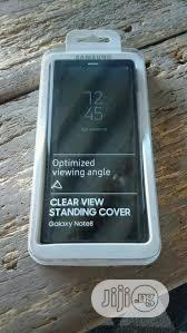Samsung Note 8 Clear View Non Active Flip Cover   Accessories for Mobile Phones & Tablets for sale in Lagos State, Ikeja